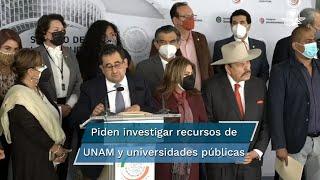 El senador Armando Guadiana Tijerina respaldó las acciones de la Fiscalía General de la República en contra de 31 científicos del Conacyt
