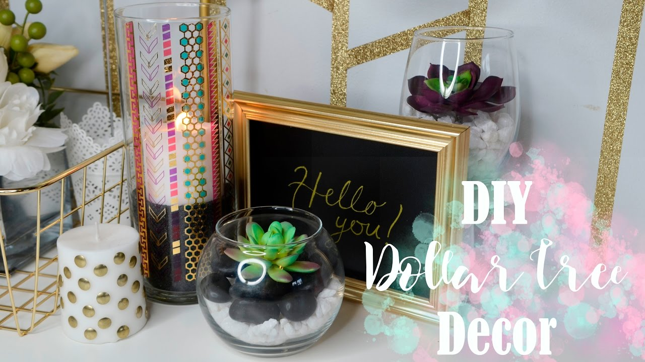 Dollar tree diy easy tumblr room decor for under 10 for Room decor under 10