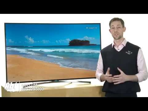 Samsung Curved 48, 55 And 65-inch LED H8000 Series TV Overview