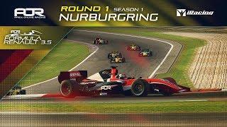 iRacing | AOR Formula Renault 3.5 Championship | S1 | R1: Nürburgring