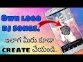 How To Make Audio Spectrum On Android|Dj Songs Making|Avee player|(In Telugu).