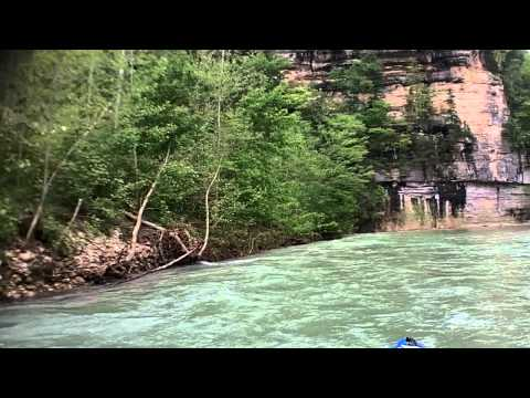 BUFFALO RIVER ARKANSAS KAYAK TRIP PART 1