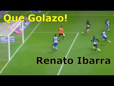 GOLAZO de Renato Ibarra en el Futbol Mexicano 2018