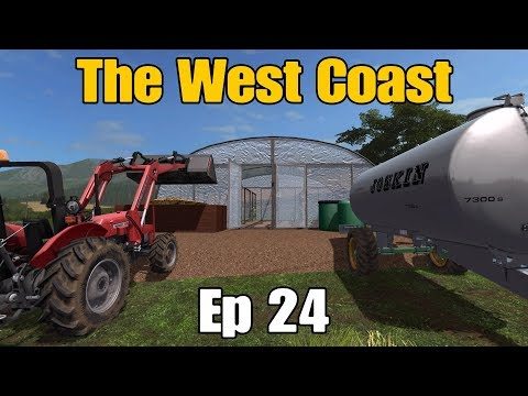 Let's Play Farming Simulator 17 PS4: The West Coast, Ep 24