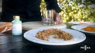 Ricette PriMa Food di Tiziano Mita - Latte di Mandorla con Albicocche all'essenza di Gelsomino Bio