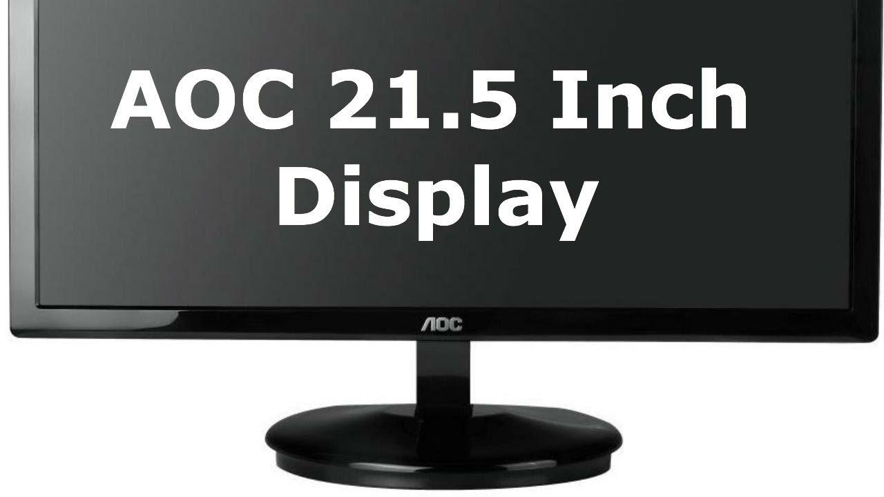Монитор AOC e2270swn Black