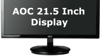 aoc 21 5 full hd monitor review unboxing