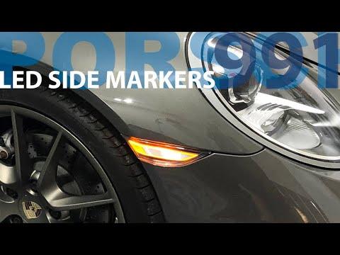 Porsche 991 Clear LED Side Markers – 5 min DIY