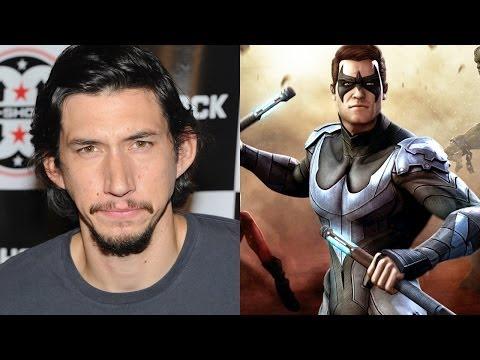 Adam Driver Denies BATMAN VS. SUPERMAN Nightwing Rumor