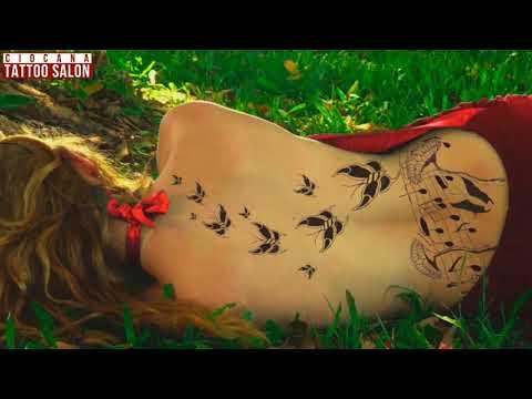 02 - Тату Бабочка - значение татуировки