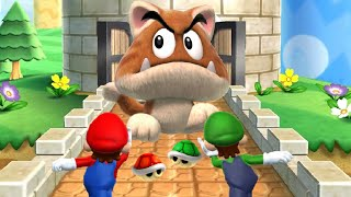 Mario Party 9 - All Free-For-All Minigames