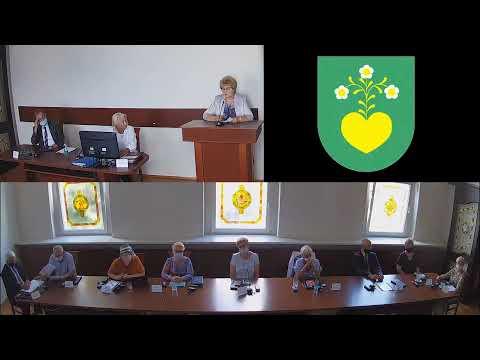 Sesja Rady Miejskiej w dniu 25.08.2020