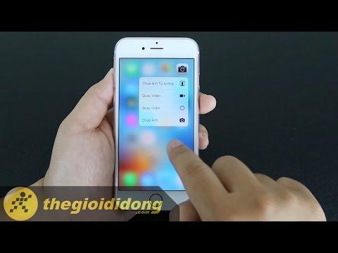 Hướng dẫn sử dụng công nghệ 3D Touch trên iPhone 6s | www.thegioididong.com