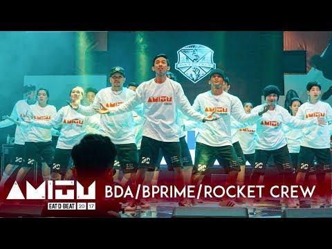 BDA x B Prime x Rocket Crew | Special Showcase | Eat D Beat AMITY 2017 Bandung, Indonesia