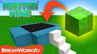 Realistic Working TRAMPOLINE in Minecraft | MASTER MINE TUTORIALS