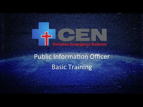 Public Information Officer | Basic Training