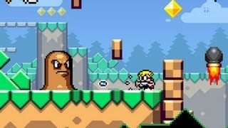 CGRundertow MUTANT MUDDS for Nintendo 3DS Video Game Review