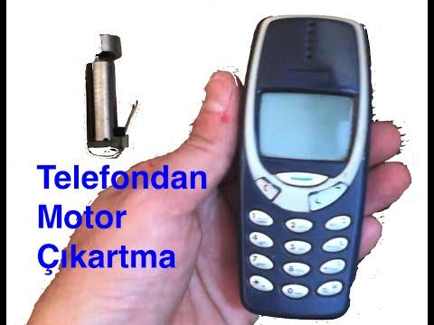 Cep Telefonundan Mini Motor Çıkartma