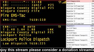 01/17/18 PM Niagara County Police & Fire Scanner Stream Fire Wire