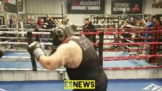 Wow Mikey Garcia Sparring World Biggest Mexican Big Boy Esnews boxing