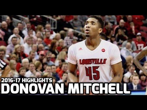 Donovan Mitchell 2016-17 Sophomore Highlights (HD)
