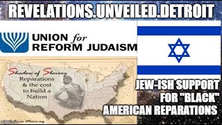 "Jew-Ish Support for ""BLACK"" American REPARATIONS."