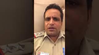 Pain of a Delhi police person