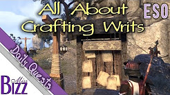 ESO Crafting Writs Guide - Elder Scrolls Online Crafting Writs! Daily Crafting Quest