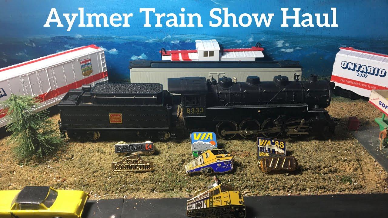 Aylmer Quebec Train Show Haul
