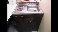 Wood's C015 vintage compact/all-in-one kitchen