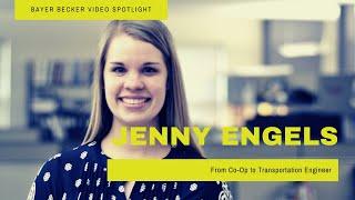 Team Spotlight: Jenny Engels - Graduate Transportation Engineer