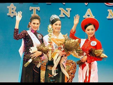 Nguyễn Thùy Lâm đăng quang Hoa hậu Hoàn vũ VN 2008 - Miss Vietnam Universe 2008 Crowning Moment