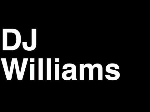 How to Pronounce DJ Williams Denver Broncos NFL Football Touchdown TD Tackle Hit Yard Run