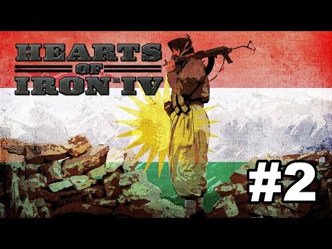 Kurdistan [2] Hearts of Iron IV - Conquering Syria