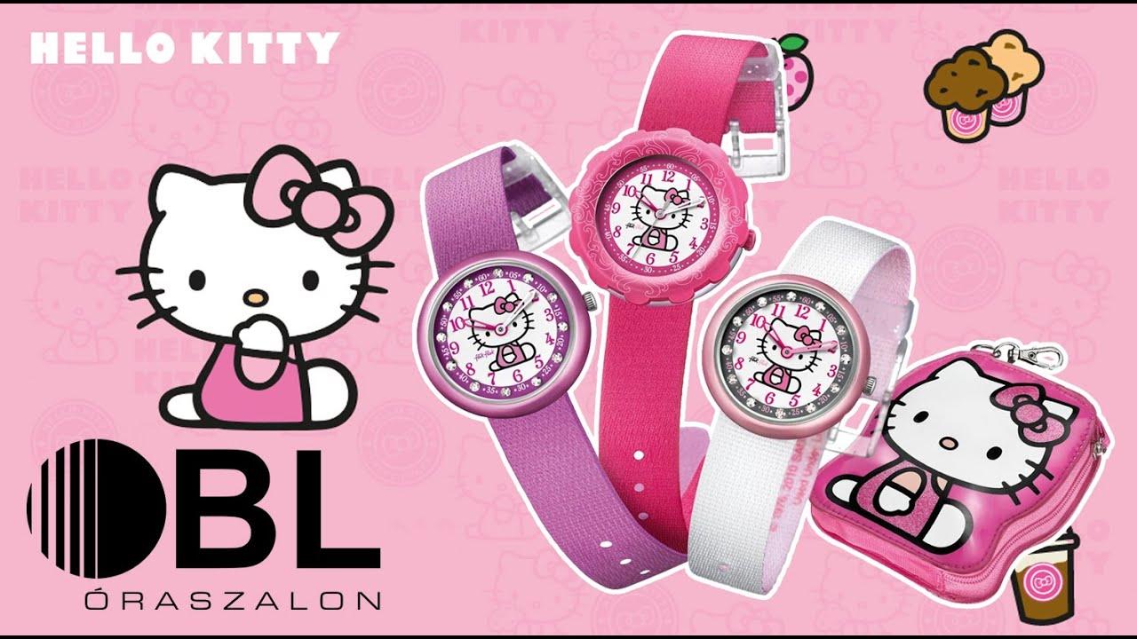 Flik-Flak Hello Kitty gyermek órák  e2b3738cde