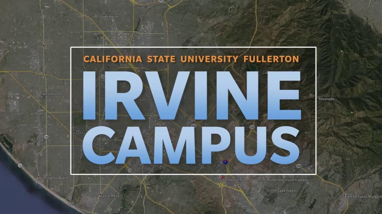 csuf irvine campus map Csuf Irvine Campus Youtube csuf irvine campus map