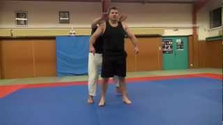 Repeat youtube video BJJ - Standing rear naked choke defense