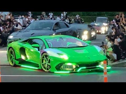 【諸星一家他】スーパーカー加速サウンド/Supercars sound in Japan. Aventador, Huracan, Gallardo, Murcielago. and more!!!