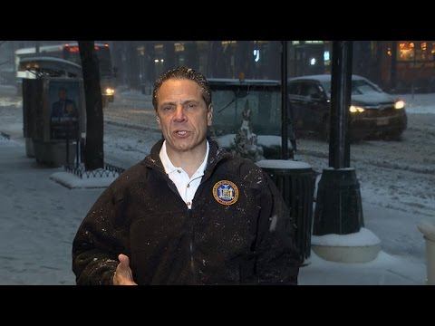 New York Gov. Cuomo gives update on winter storm