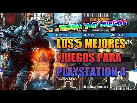 Top 5 De Los Mejores Juegos Para Playstation 4 Juegos De