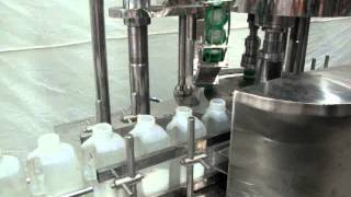SOLPACK AUTOMATIC  LIQUID PASTE  FILLING LINE LIKE OIL , TOMATO KETCHUP