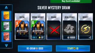 Real Steel WRB Mystery Drawing with Gameplay ft. Zeus