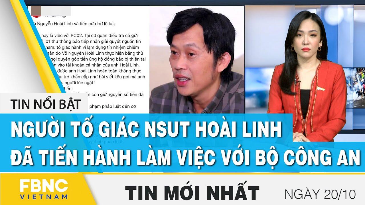 Download Bản tin trưa 20/10   Người tố giác NSUT Hoài Linh đã làm việc với Bộ công an   FBNC