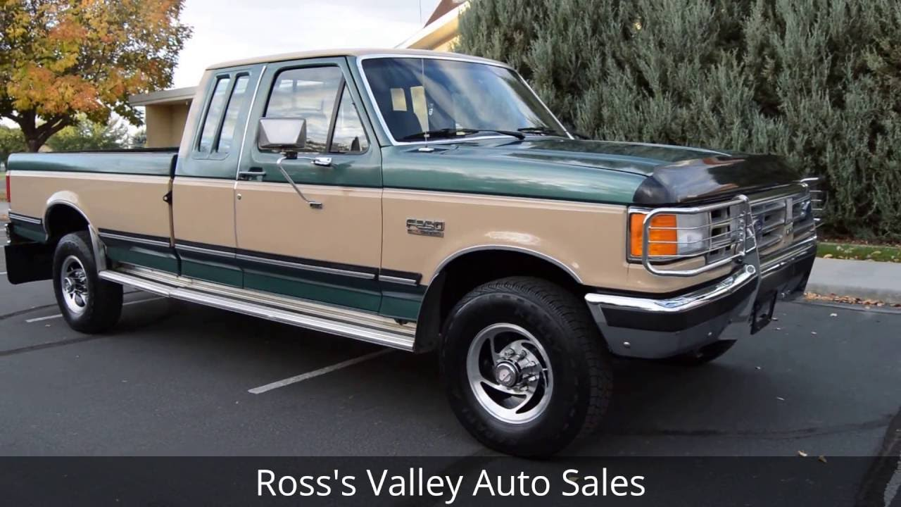 1987 Ford F250 >> 1987 Ford F250 Xlt Lariat 3 4 Ton Pickup Ross S Valley