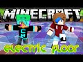 MINECRAFT LET'S PLAY ELECTRIC FLOOR MiniGames | RADIOJH GAMES & GAMER CHAD