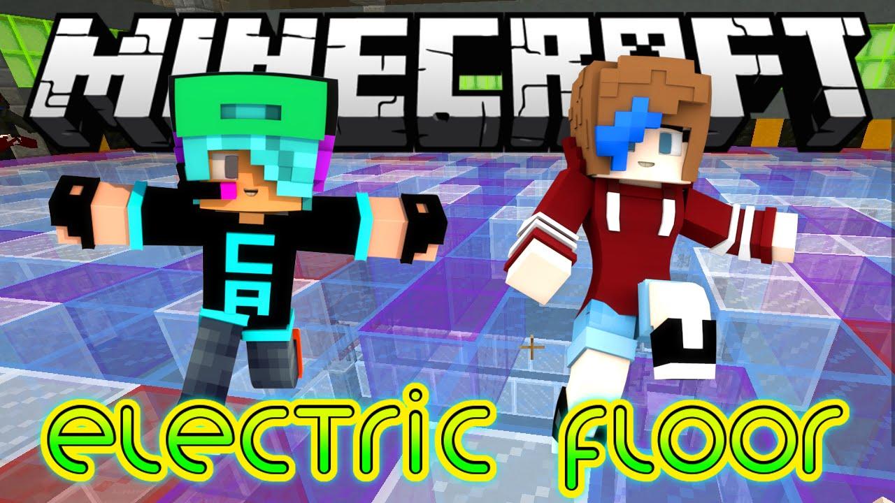 Minecraft Let S Play Electric Floor Minigames Radiojh