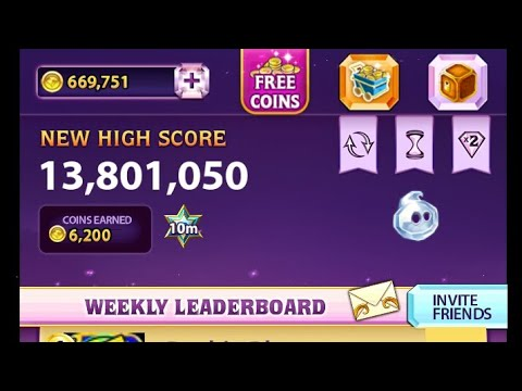Bejeweled Blitz - 13,801,050 points with Howlite (Gameplay)