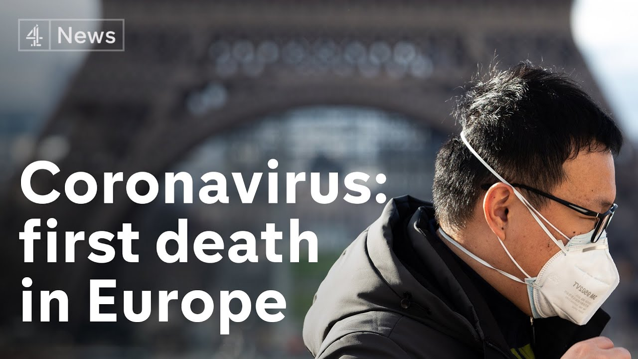 First Coronavirus death in Europe - YouTube
