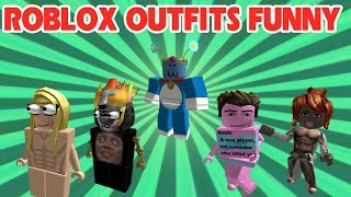 Roblox   The most fashionable costumes of the month 8/2018   Best Roblox Outfits Funny 2018