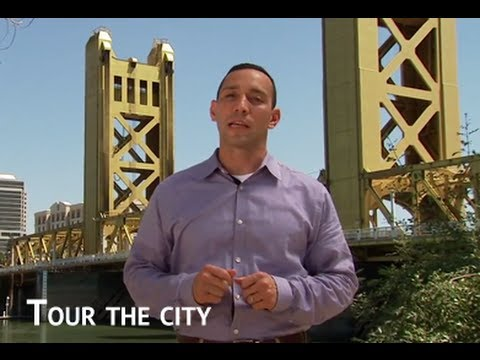 Tour of Sacramento, a great place to learn the law